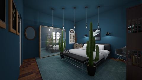 Stormy room - Bedroom  - by FANGIRLdesigner