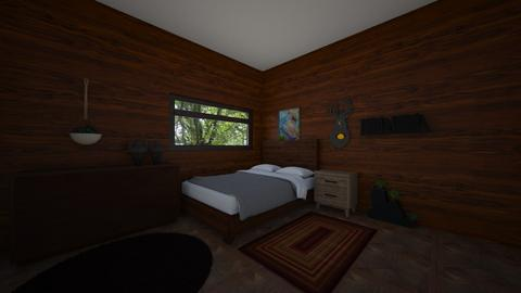Cabin in the woods - Rustic - Bedroom - by MatthewWilliard41