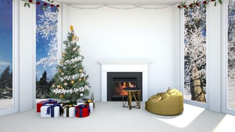 Christmas day - Minimal - Living room  - by Agamanta