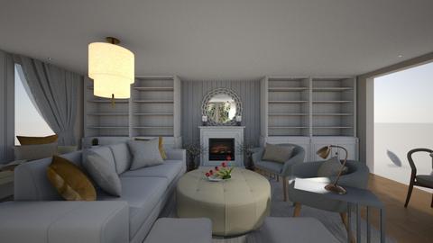 Living room B in - Modern - Living room  - by milena_spasova