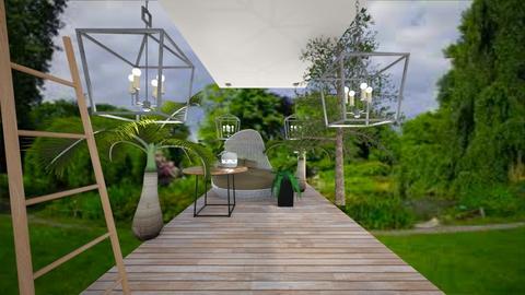 Jungle porch - Garden - by lashim