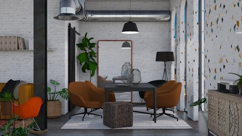 factory office - Modern - Office  - by molly_designs