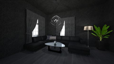 Living Room Black - Living room  - by sydneyalexander5611