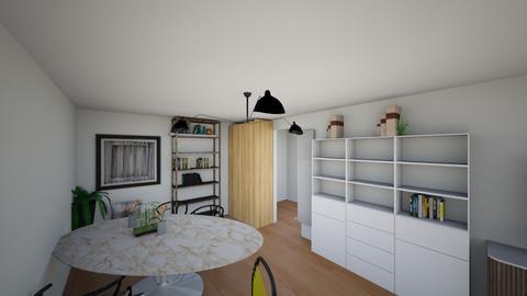 Barrow St apt Aug 21 - Modern - Living room  - by Considered Living