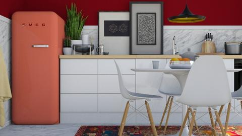 Unusual Styled Kitchen - Glamour - Kitchen  - by HenkRetro1960