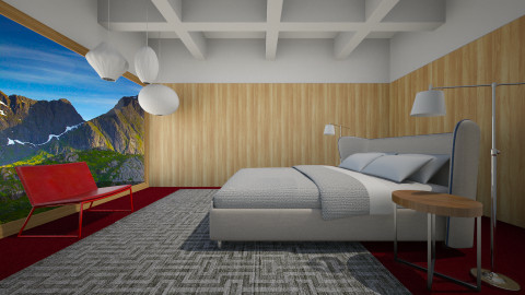 Redwood Bedroom - Minimal - Bedroom  - by 3rdfloor