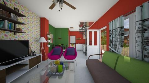 Tiny House - Minimal - Living room  - by Veny Mully