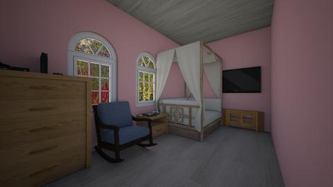 daydreamers bedroom - Feminine - Kids room - by wolfiewolf123
