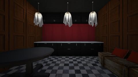 spooky kitchen  - by vlj51D4C