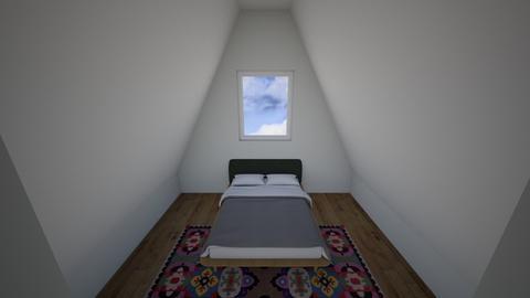 Attic Bedroom - Eclectic - Bedroom  - by aRt3mis_928