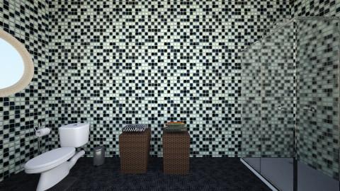 simple bathroom - Modern - Bathroom - by Jo Oliveira