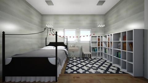 attics bedroom  - Bedroom  - by PennyLover
