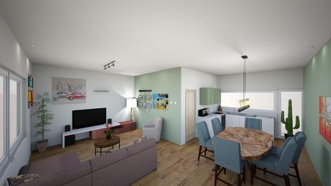 woonkamer - Living room  - by Jeroen204