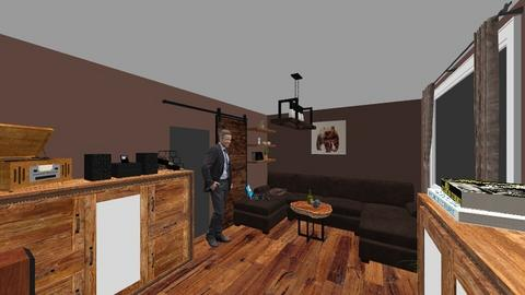 Niko Living room - Rustic - Living room  - by NikoSch