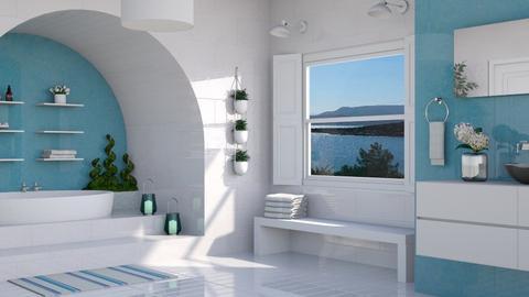 Island Vibes Bathroom - Bathroom  - by bigmama14