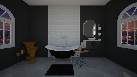 bathroom au grande - Bathroom  - by Dwibby46