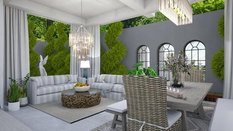 Garden Retreat 6 - Garden  - by Fofinha