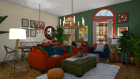 baltimore - Living room  - by meredithcrummey
