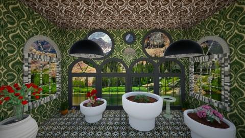 Veranda - Country - Garden  - by lori gilluly