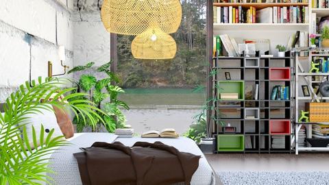 Book Bed Room - Modern - Bedroom  - by malithu damsath