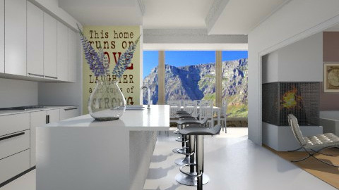 in home  - Modern - Kitchen  - by Nhezi