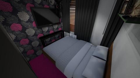 Reddish Bedroom Estimate - Modern - Bedroom - by rosesforthedead9