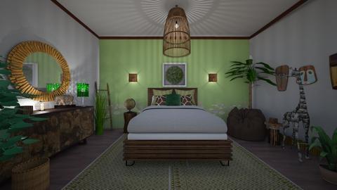 Urban Jungle - Bedroom - by Anna Neeb