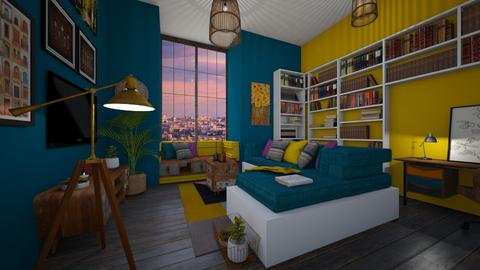 colored dream - Living room - by Miss MH