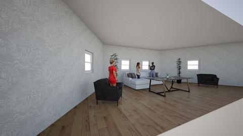 3d room - Living room  - by jakyrragreen