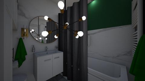 P Beata Warszawa - Bathroom  - by DERRYS