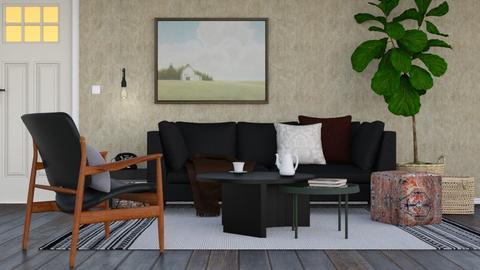 Tue 8th September - Rustic - Living room  - by HenkRetro1960