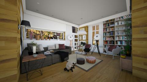 sunday sofa - Modern - Living room  - by Evangeline_The_Unicorn