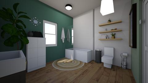 bathroom pic 1 - Bathroom  - by jennagui9587