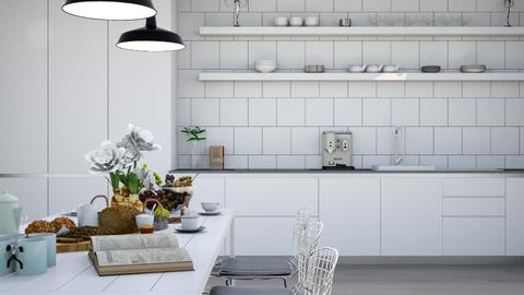 Contemporary Kitchen - Modern - Kitchen - by leahpro