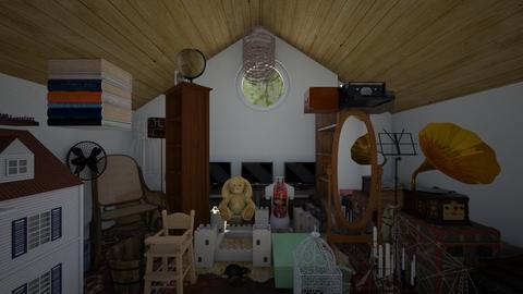 Haunted Attic Storage - Rustic - by SammyJPili