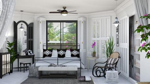 tropical living - Bedroom  - by psari