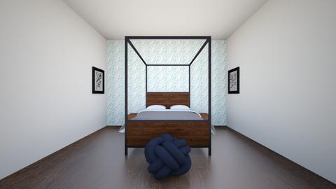 symmetry bedroom - Bedroom  - by meghartley122