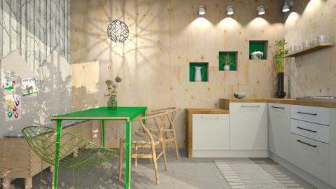 Greenery - Kitchen  - by Liu Kovac
