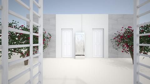 hostel1 - Garden  - by idontknowme