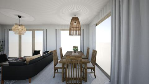 2 - Minimal - Dining room - by Lenamider