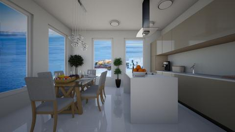 greece - Kitchen  - by iveto3131