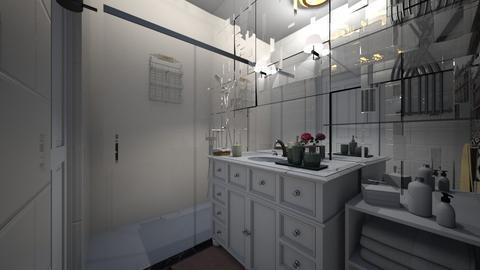 Sylwia i Tomek 2 - Bathroom  - by Joanna88