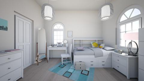 Teen Girls Room - Classic - Bedroom - by Chicken202