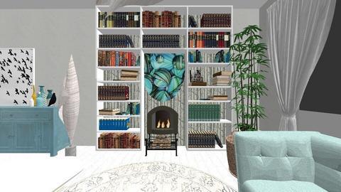 Plan parter finalx - Living room - by decorina