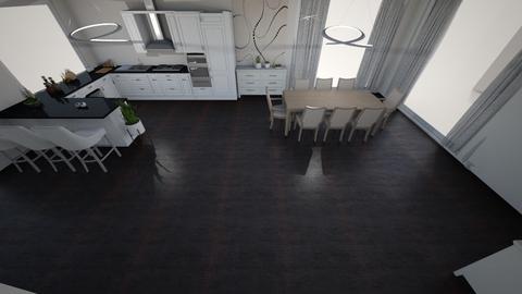 bright kitchen 64 - Modern - Kitchen  - by kantorjanos