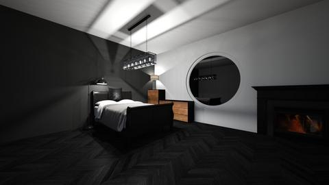 Black n White - Bedroom  - by MrMonopoly