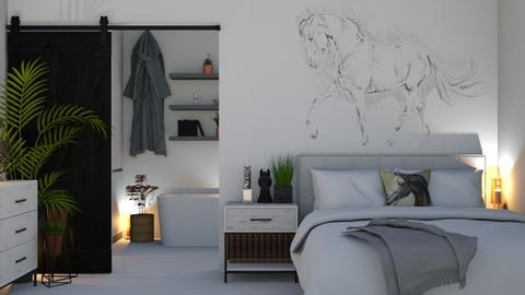 Horses - Bedroom  - by KittyKat28