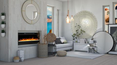 JapandiContest_evabarrett - Feminine - Living room  - by evabarrett