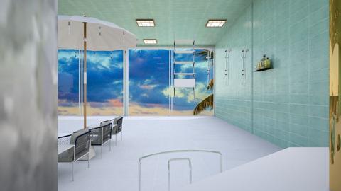 Pool Shower - Garden  - by khinphyucinhtet