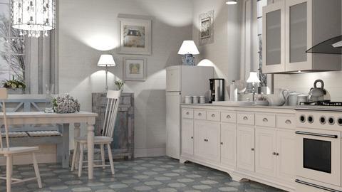 Shabby Chic Kitchen - Kitchen  - by GraceKathryn